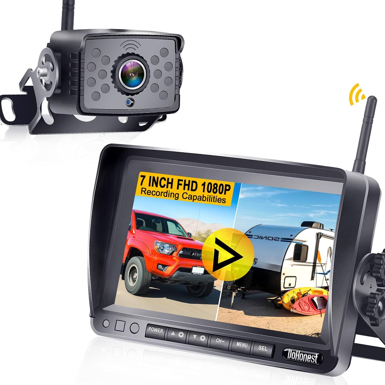 DoHonest S19高清1080P房车无线备份摄像头
