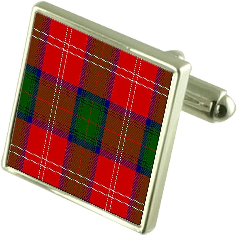 Select Gifts Cufflinks Tartan Clan Chisholm