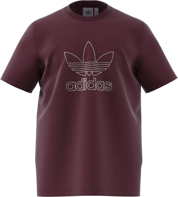 Camiseta Adidas outline Granate