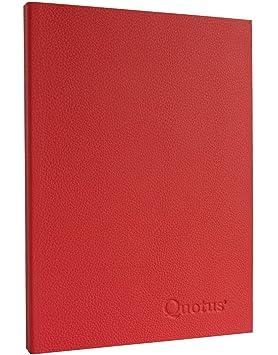 Cuaderno Agenda telefónica de piel auténtica: Amazon.es ...