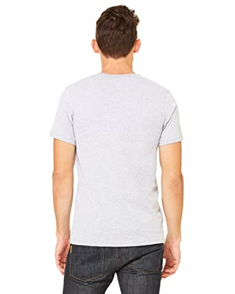 83137f8895ee Bella + Canvas Unisex Jersey Short-Sleeve V-Neck T-Shirt - White ...