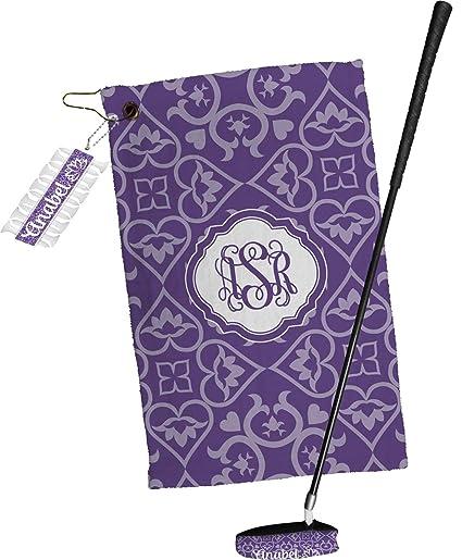 Flor de loto toalla de Golf Set de regalo (personalizado)