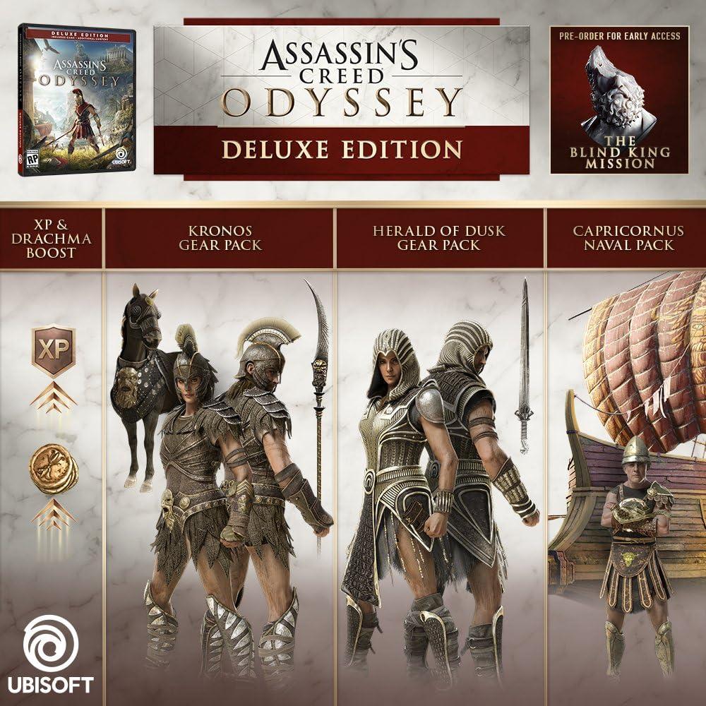 Amazon com: Assassin's Creed Odyssey Season Pass - PS4 [Digital Code