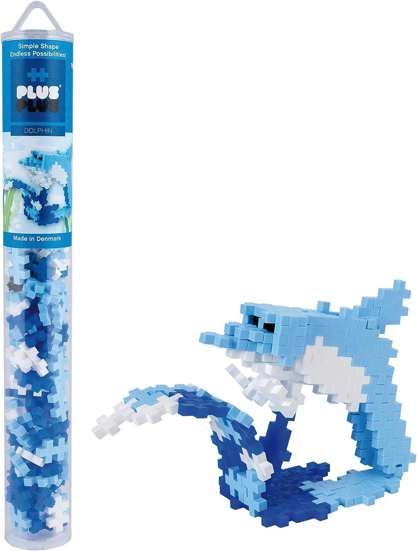 Multi-Colour 100 pcs Plus-Plus 300.4120 Llama Tube Mix Standard