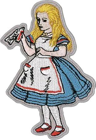 Alice Merveilles 6 Cm Brodé Patch X Pays Des Au 9 y6Yf7gbv