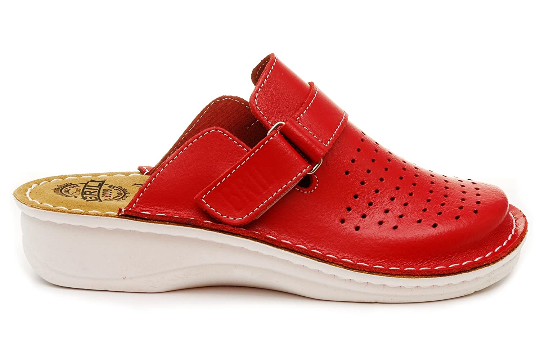 Dr Punto Dr Rosso BRIL 19405 D52 Femme Sabots Mules Chaussons Chaussures en Cuir Femme Dames Rouge 8a55dd9 - epictionpvp.space