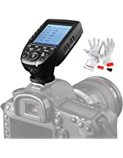 Godox Xpro-N TTL Wireless Flash Trigger Transmitter for Nikon 1/8000s HSS TTL-Convert-Manual Function Large Screen Slanted Design 5 Dedicated Group Buttons 11 Customizable Functions