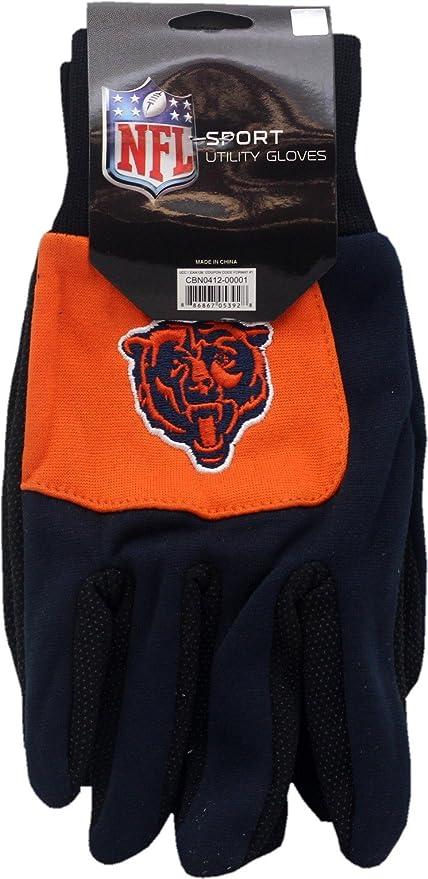 Medium Chicago Bears Winter Gloves Nylon