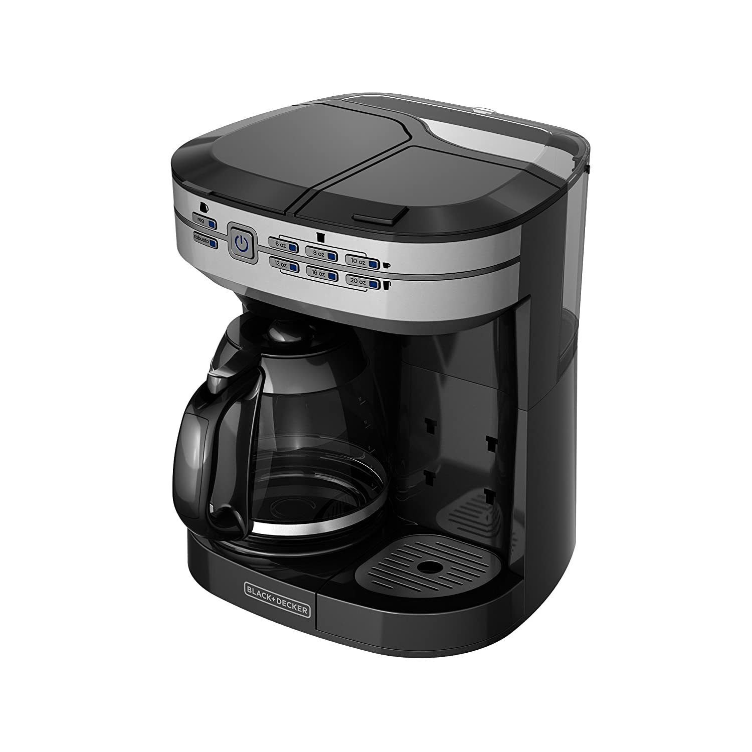 Keurig coffee makers at bed bath and beyond - Amazon Com Black Decker Cm6000bdm Cafe Select 2 In 1 Dual Brew Mug Silver Kitchen Dining