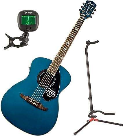 Fender 0971752027 Tim Armstrong Hellcat Sapphire guitarra acústica ...