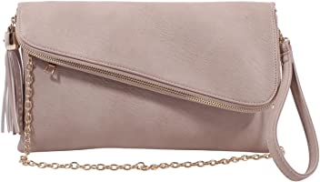 MKF Collection Lexy Designer Crossbody Wristlet by Mia K. Farrow