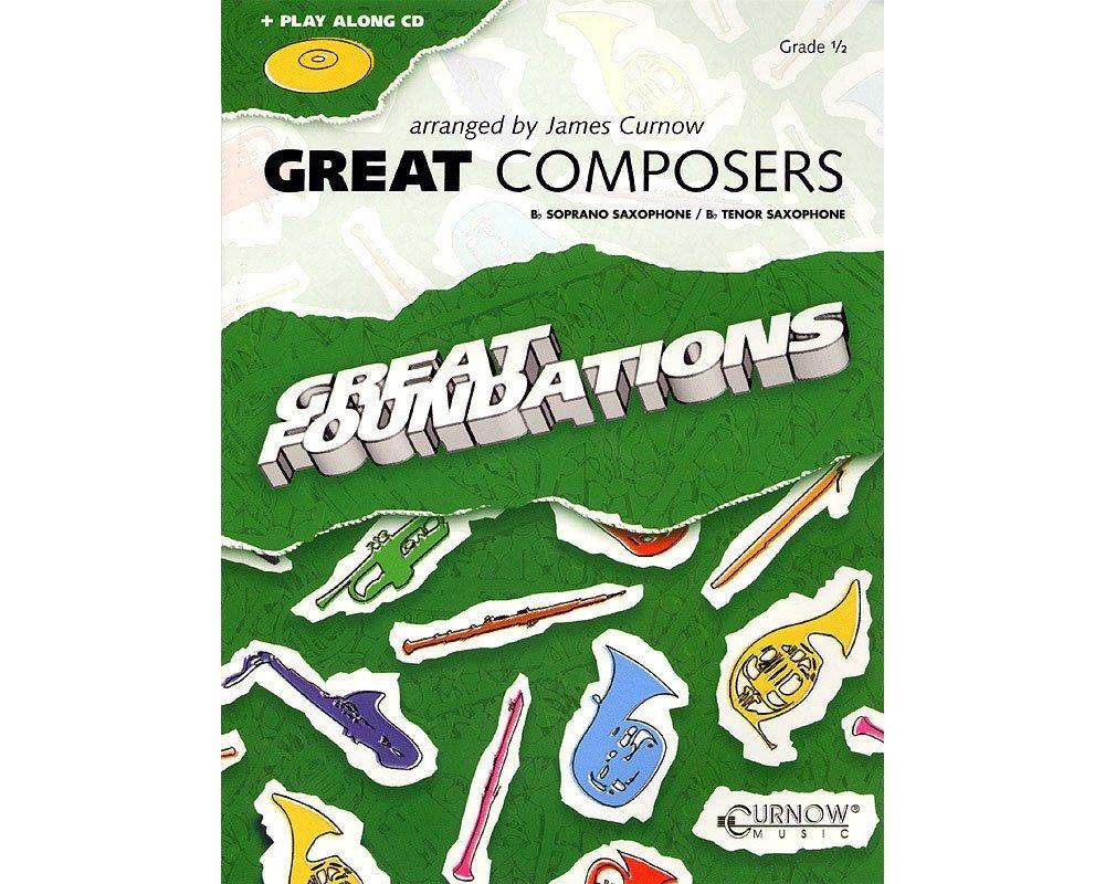 Download Curnow Music Great Composers (Bb Soprano Sax/Bb Tenor Sax - Grade 0.5) Concert Band Level 1/2 pdf epub