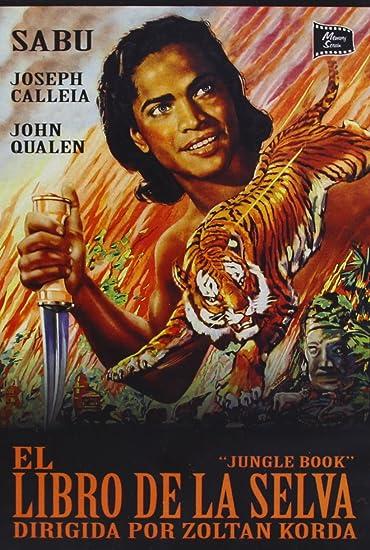 El Libro de la Selva [DVD]: Amazon.es: Sabu, Joseph