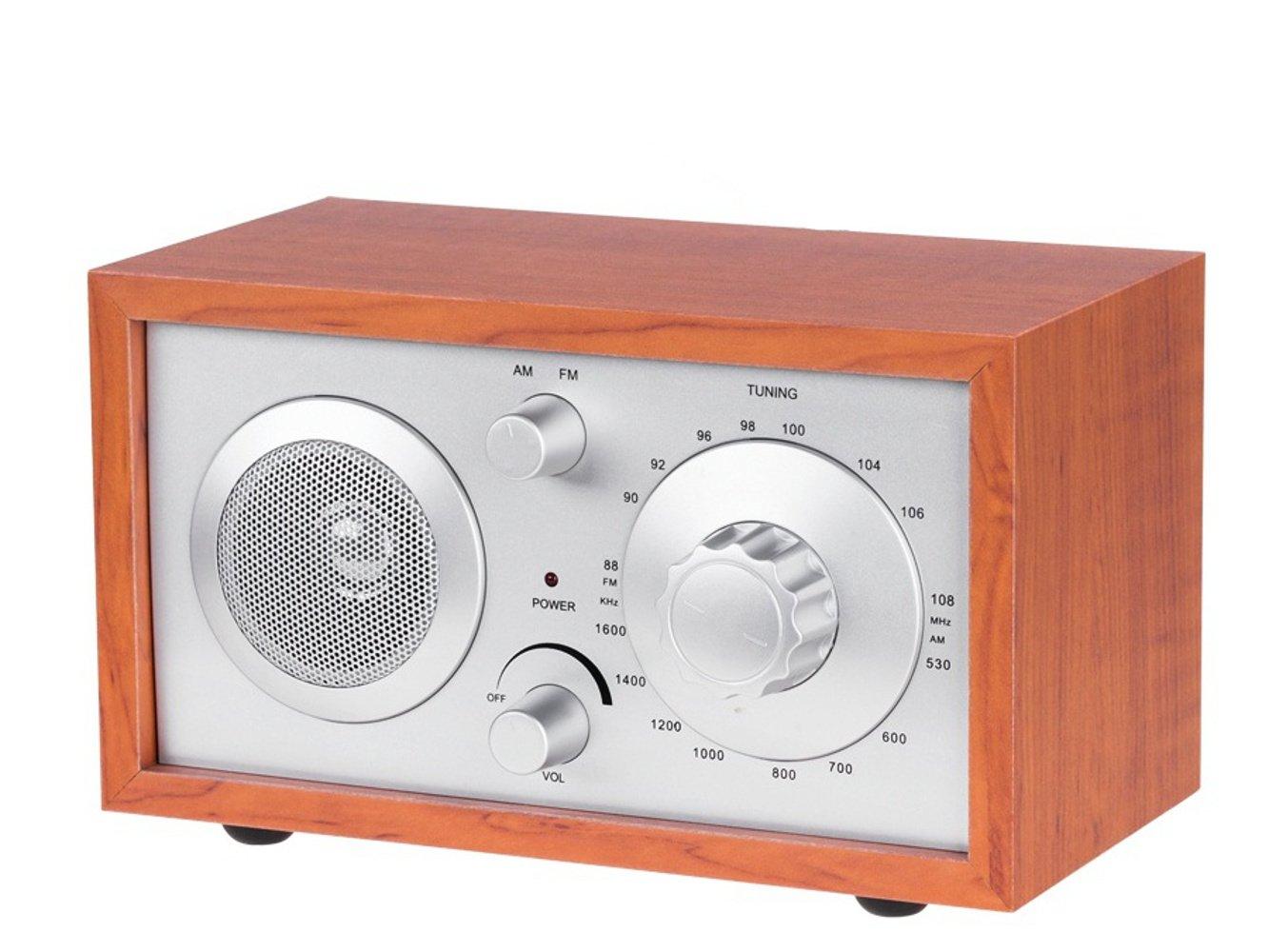 Azusa S de 3023Nueva Madera Radio AM/FM para la cocina y Salón
