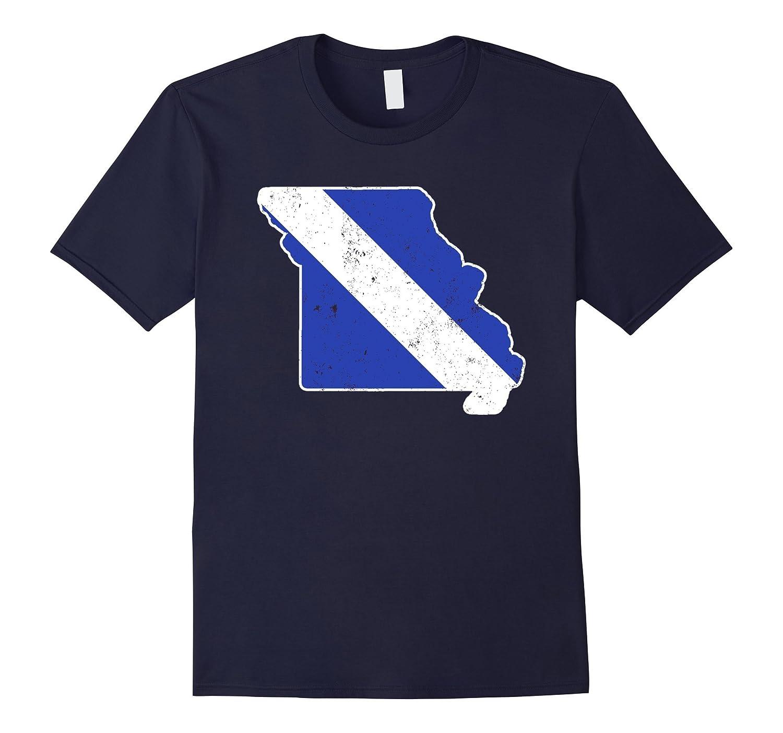 Missouri EMT Paramedic Thin White Line Flag Shirt-TD