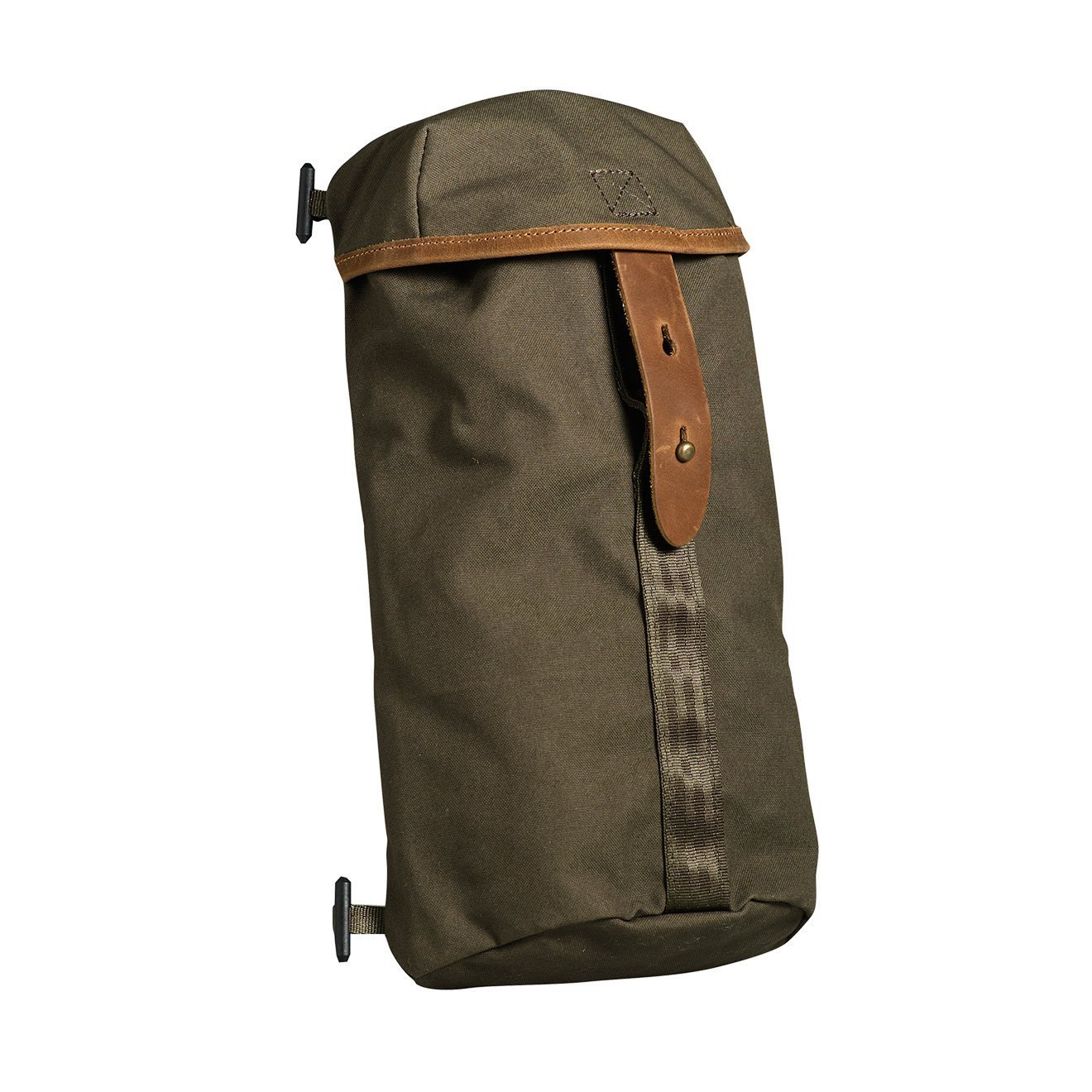 Dark Olive Fjallraven Stubben Side Pockets