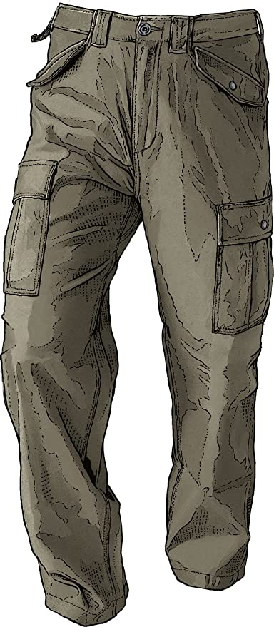 ccff029b Amazon.com : Men's Fire Hose Fatigue Cargo Pants : Apparel : Everything Else