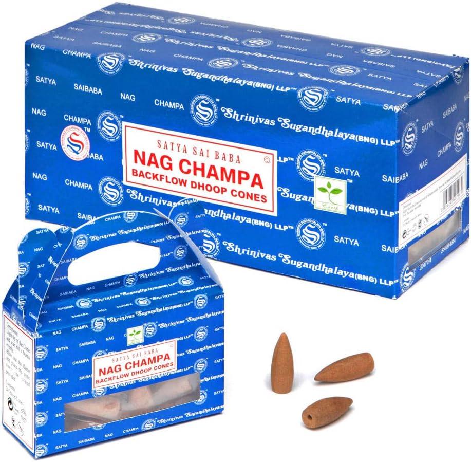 Nag Champa - Conos de incienso