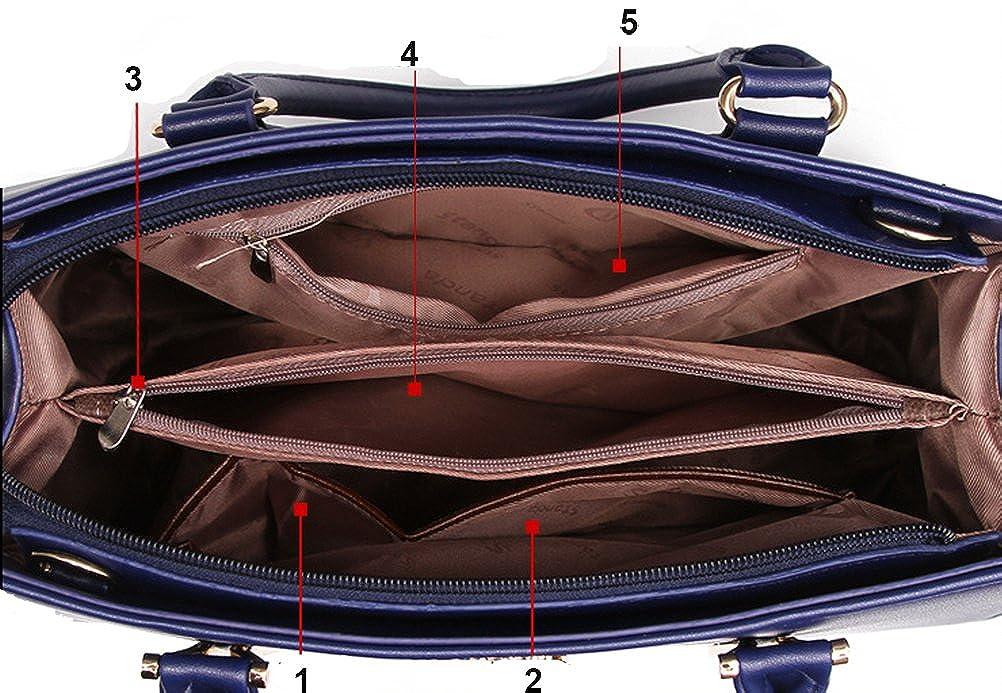 Micom 2016 Summer Womens Pure Color Pu Leather Boutique Tote Bags Top  Handle Handbag M150519-A-Beige d6ec9a6e48f36