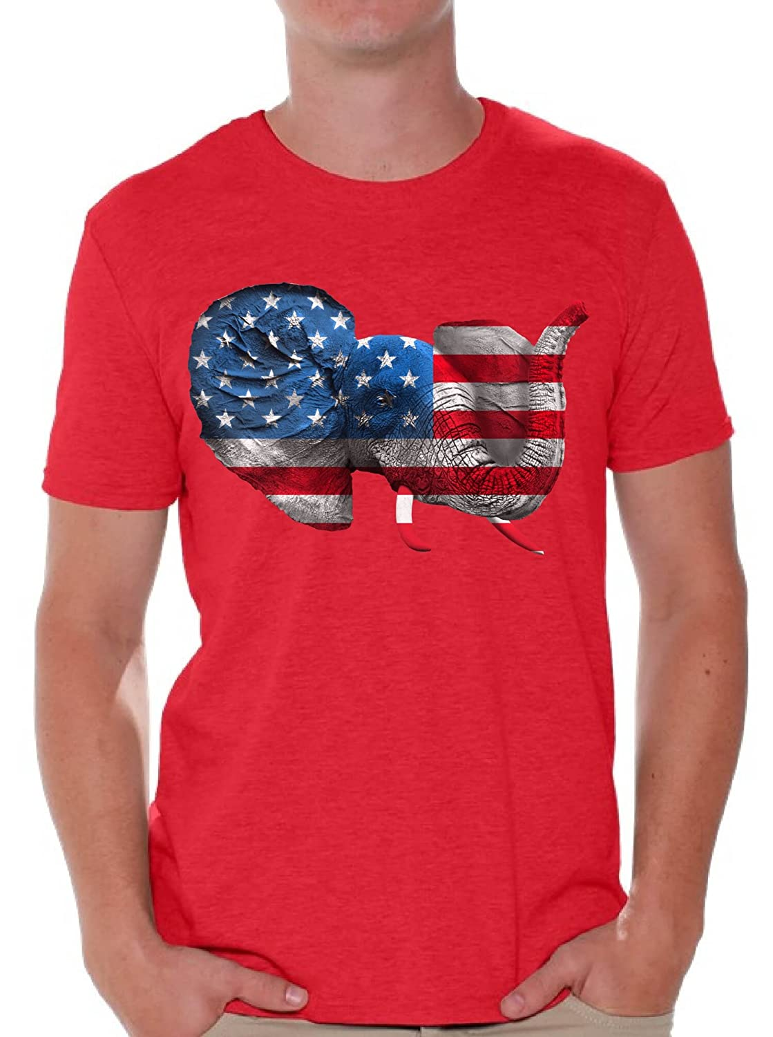 d03c7c7d66703 Wear your national pride with these stylish American flag designs. USA Flag  Distressed American Flag Elephant American Pride They Hate Us Cus They Aint  Us ...