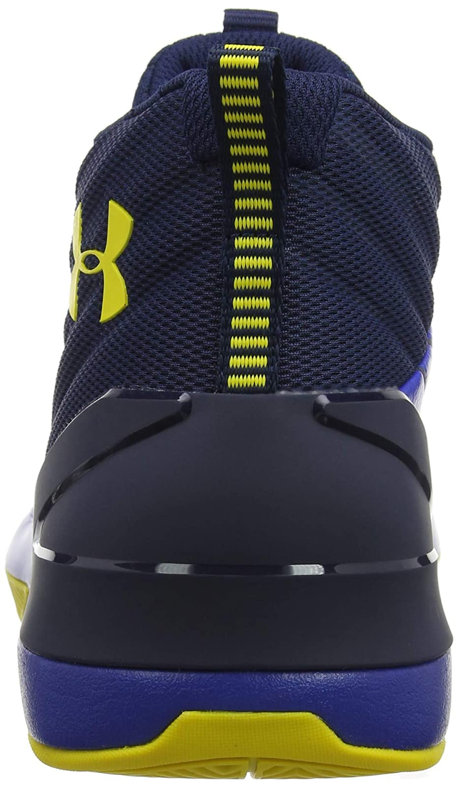 Under Armour Men's Launch Basketball Shoe 3020622 Academy (400)/Royal - 2