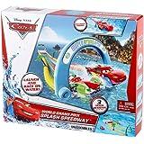 Disney Pixar X9744 Cars World Grand Prix Splash Speedway Playset