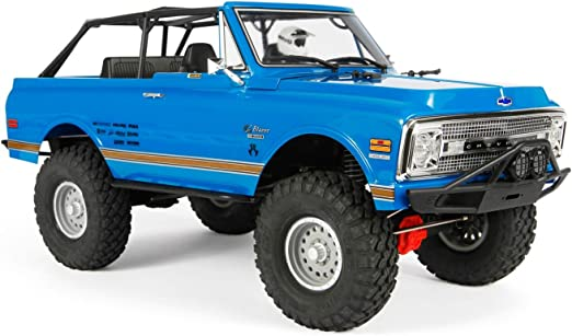 69 Chevy K5 Blazer Axial Hardtop Uncut Clear Body