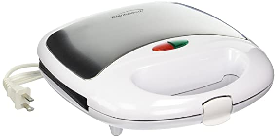 Brentwood Appliances TS-240W BRENTWOOD Sandwich Maker, White