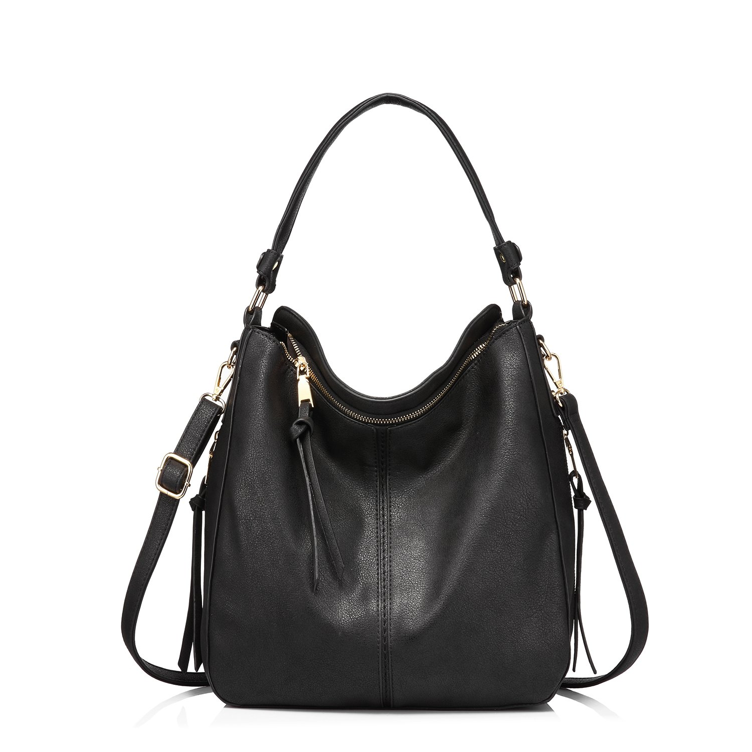 fb20fe3c43 Amazon.com  Handbags for Women Large Designer Ladies Hobo bag Bucket Purse  Faux Leather in Small Size