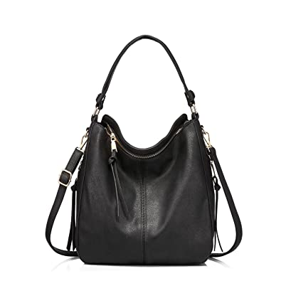 9926eebb12 Amazon.com  Handbags for Women Small Designer Ladies Hobo bag Bucket Purse  Faux Leather in Small Size  Shoes
