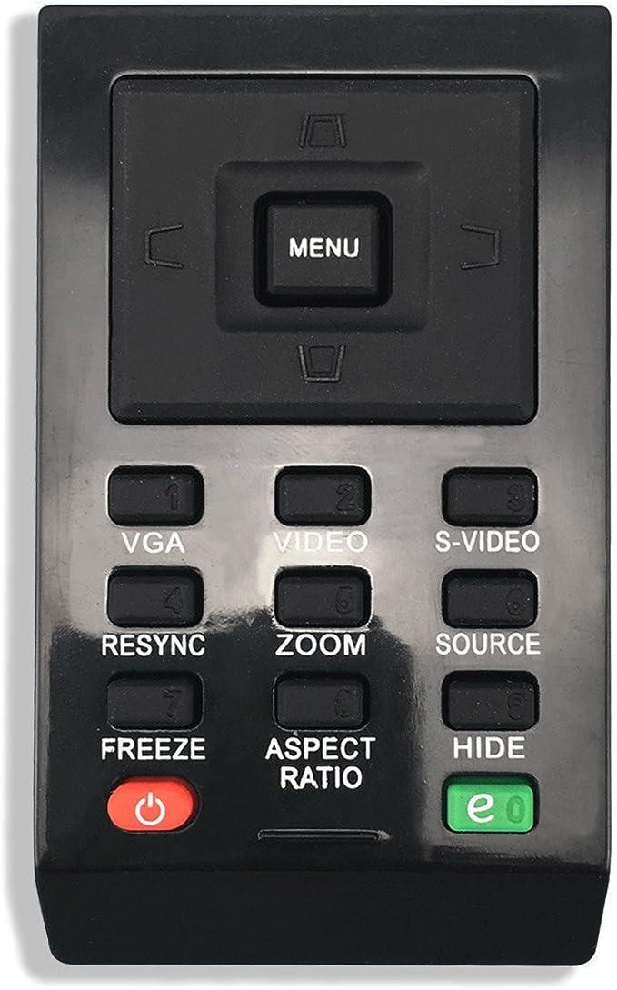 Black for Acer P1285 TeKswamp Video Projector Remote Control
