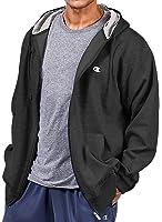 Champion Big & Tall Men's Full Zip Fleece Hoodie Medium Weight