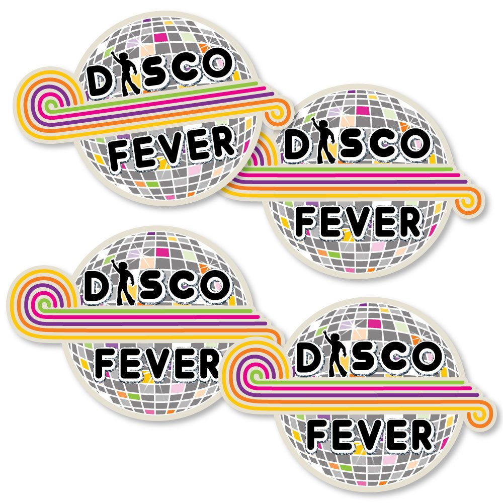 70's Disco - Disco Ball Decorations DIY 1970's Disco Fever Party Essentials - Set of 20
