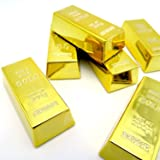 Shiny Fake Gold Bar Decorations For