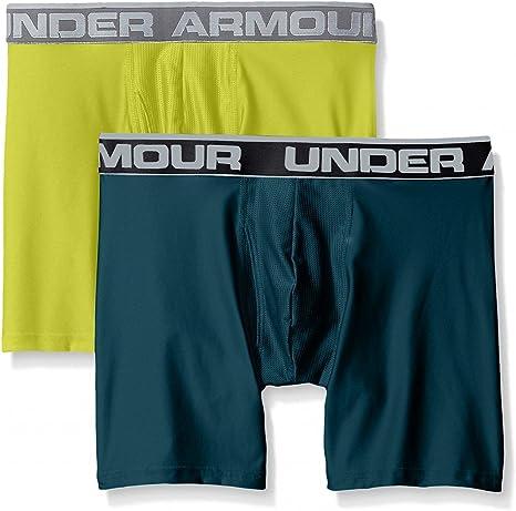 Under Armour Mens O-Series 6in Boxerjock 2pk Novelty