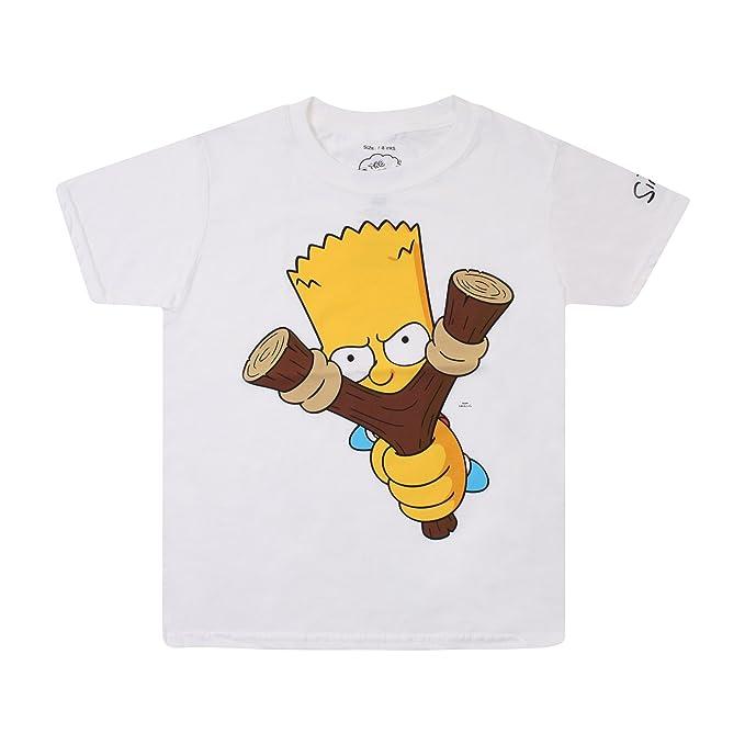 Simpsons Slingshot, Camiseta para Niñashttps://amzn.to/394ossC