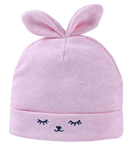 Feoya Gorro Gorra para Bebés Sombrero de Punto Recien Nacido Hat ...