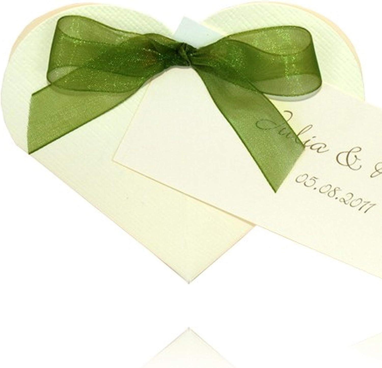 EinsSein 1x Caja de Regalo boda Heart crema cajas bonitas para cajitas regalos bombones carton bolsitas papel chuches bodas bautizo pequeñas pequeña recordatorios comunion navidad decorar invitaciones: Amazon.es: Hogar