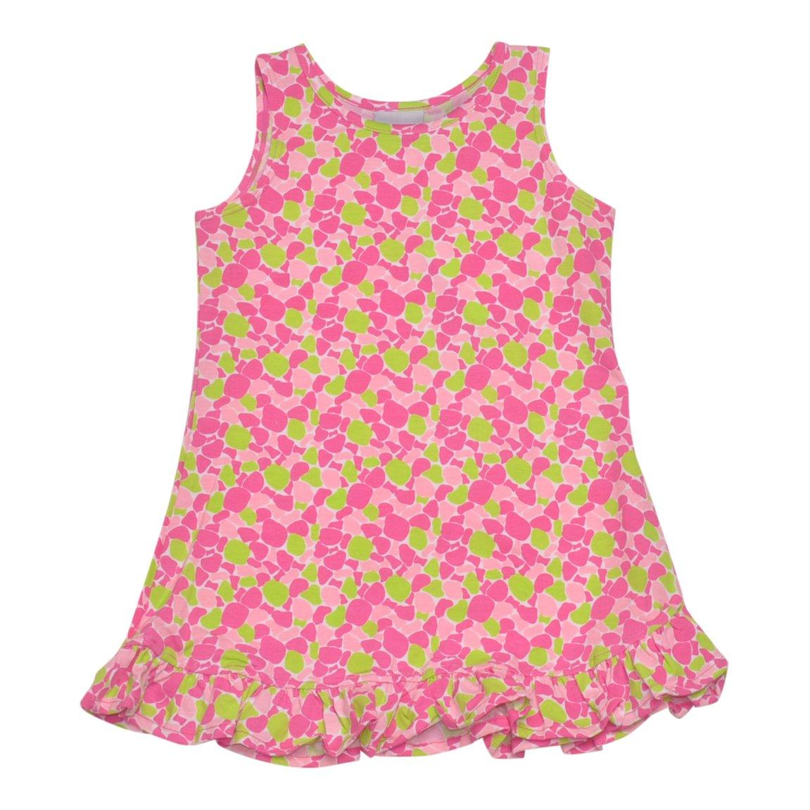 Flap Happy Little Girls' Sophie Swing Dress, Sea Glass, 2