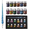 Mancola Glass Dipped Pen Ink Set