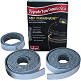 Gold Standard High Heat Gasket with Adhesive for Large Big Green Egg with Kevlar and Nomex - 2yr Warranty