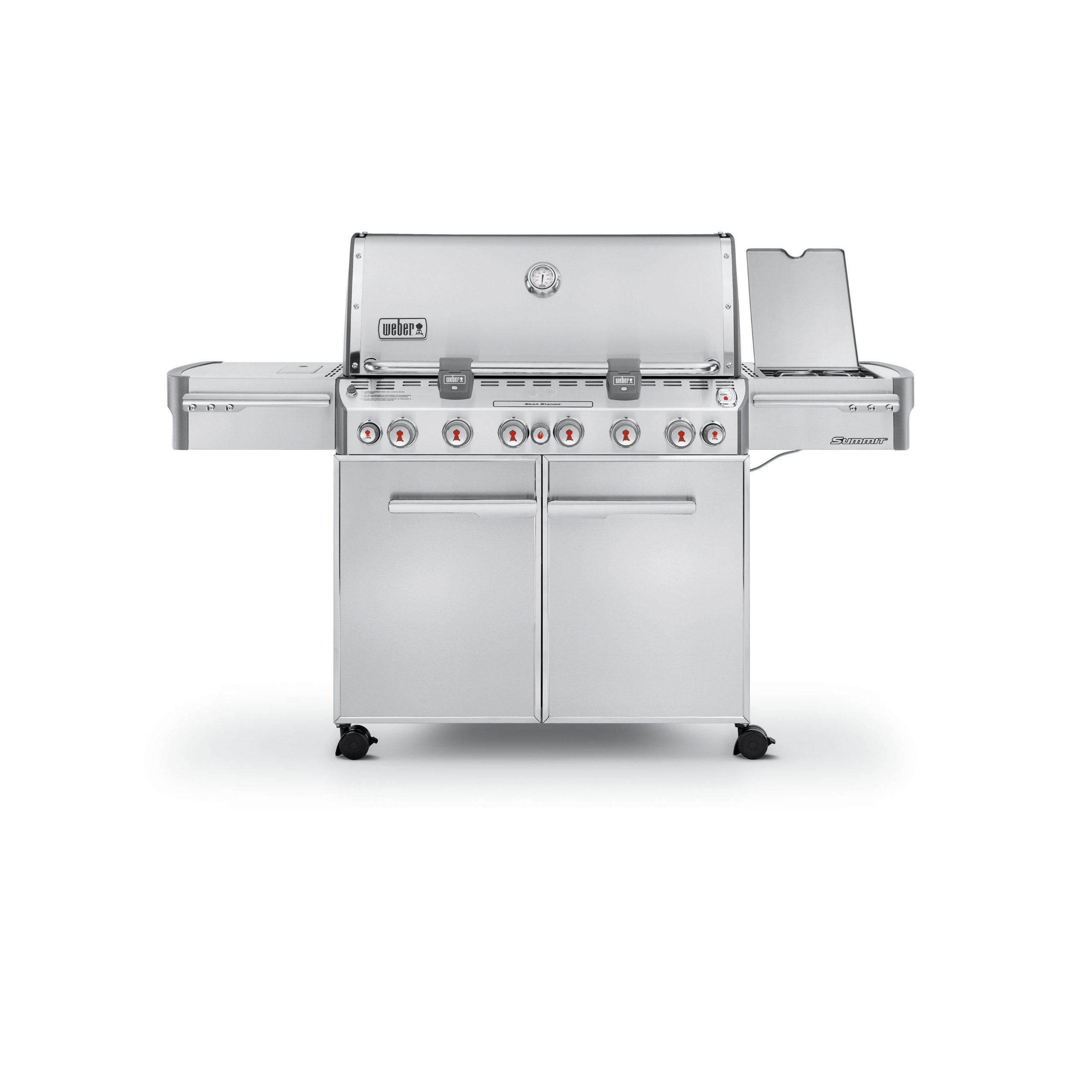 Weber Summit 7370001 S-670 Stainless-Steel 769-Square-Inch 60,800-BTU Liquid-Propane Gas Grill by Weber