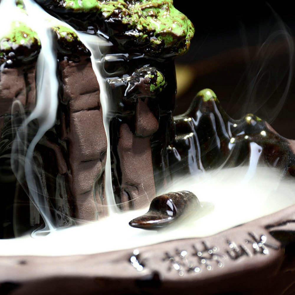 Eforlife Ceramic Incense Holder Backflow Censer Home Decoration (Guilin Scenery) by Eforlife (Image #2)