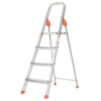 Bathla Advance 4-Step Foldable Aluminium Ladder