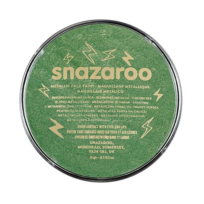139 opinioni per Snazaroo- Colori Pittura per il Viso, Verde Elettrico, 18 ml