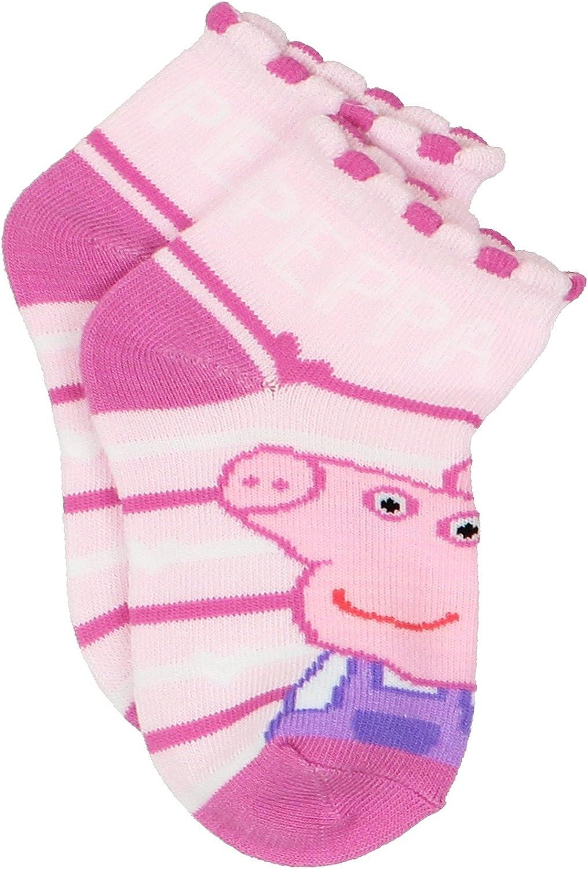 Peppa Pig Girls Toddler Multi Pack Socks Set