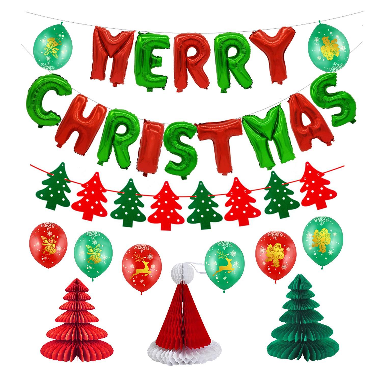 Amazon Com Merry Christmas Decoration Kit Kwayi Merry Christmas