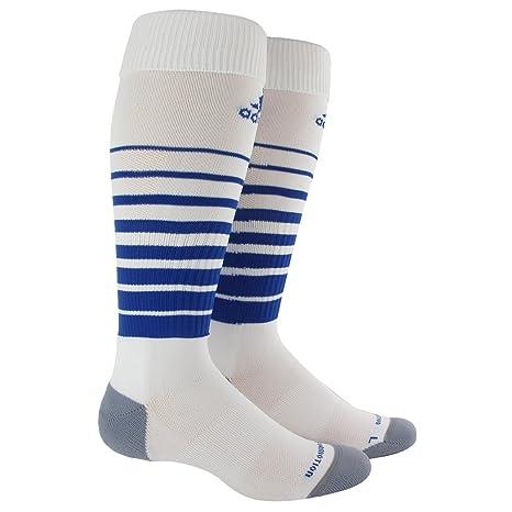 adidas Equipo velocidad fútbol calcetines - 5130286, Blanco/Cobalto