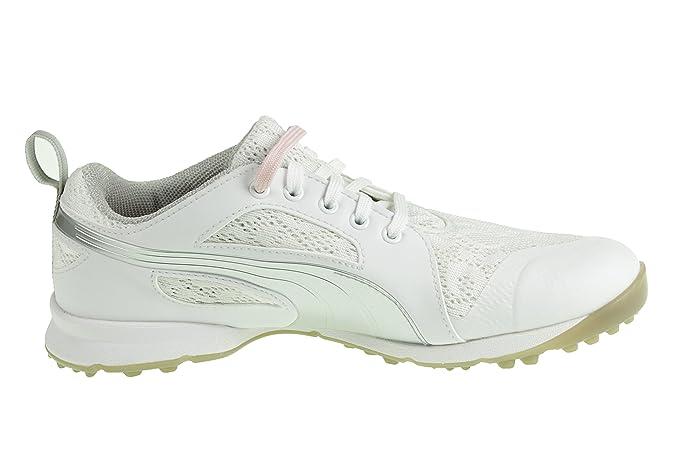 e71f0331499c Puma Puma Biofly Mesh Wmns - White Silver Pink Dogwood  Amazon.co.uk   Sports   Outdoors