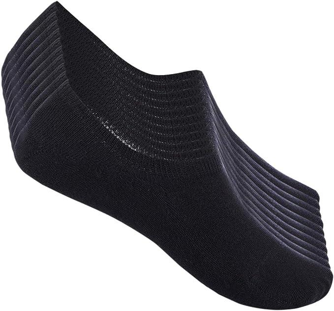 FALARY Chaussette Hommes Femme de Sport 10 Paires Chaussettes Basses Coton Soquette